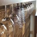ワインを愉しむ住まいの写真 造作ワイングラスホルダー