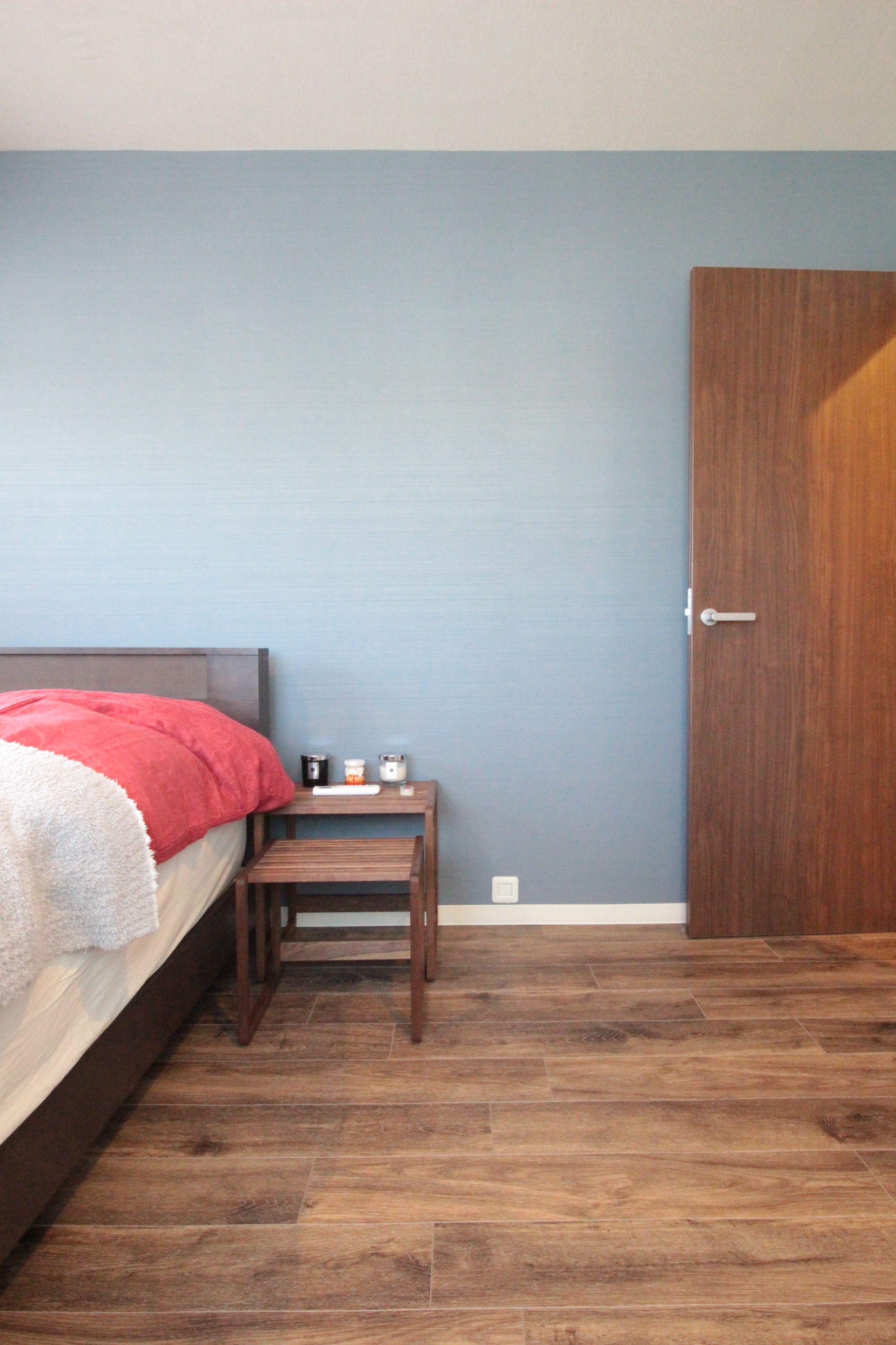 ベッドルーム事例:寝室(ワインを愉しむ住まい)