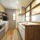 ナチュラルなレトロカフェスタイルの写真 キッチン1
