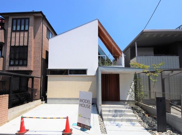 外観 (八尾の家(コンセプトハウス))