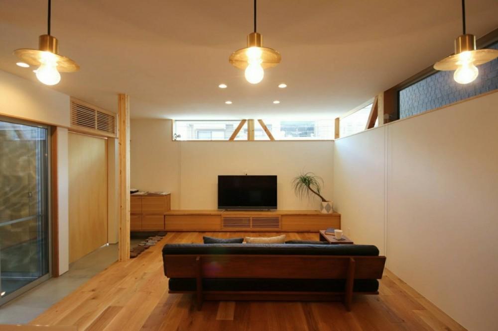 八尾の家(コンセプトハウス) (リビング)