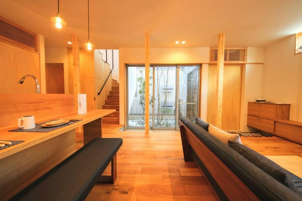 八尾の家(コンセプトハウス) (LDK)