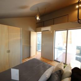 八尾の家(コンセプトハウス) (寝室)