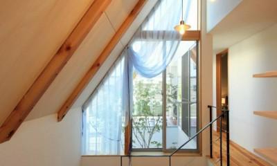 八尾の家(コンセプトハウス) (階段)