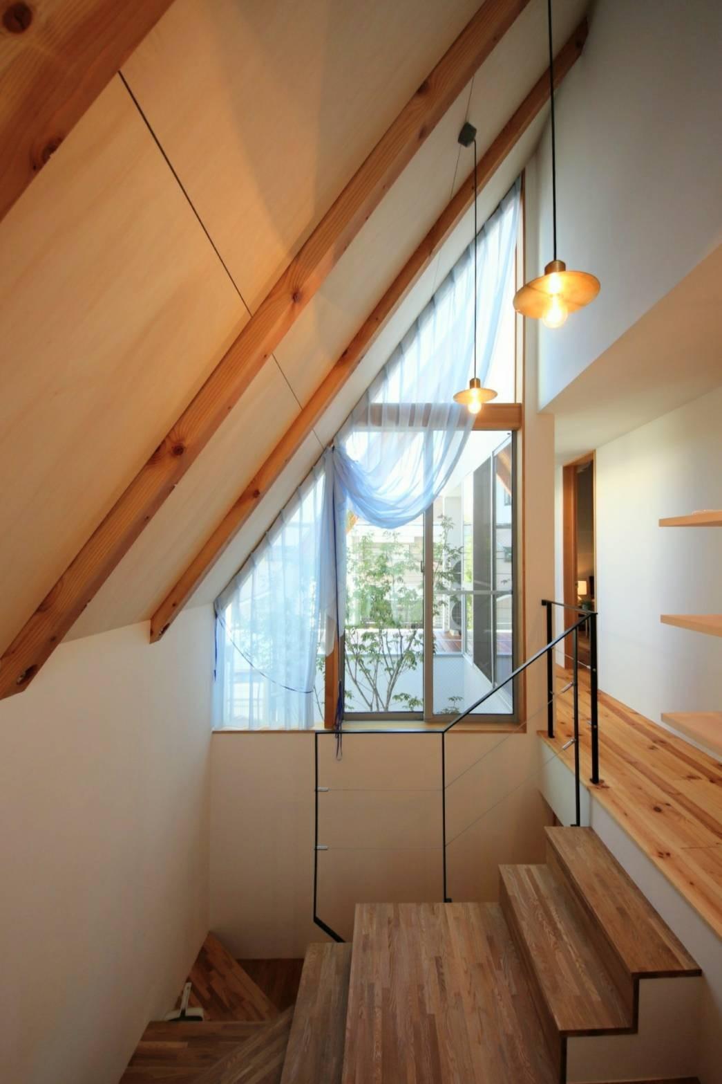 その他事例:階段(八尾の家(コンセプトハウス))
