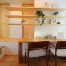 八尾の家(コンセプトハウス)の写真 造作家具