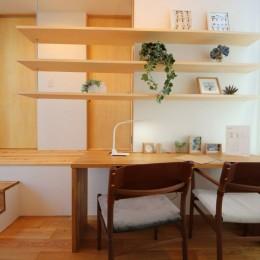八尾の家(コンセプトハウス) (造作家具)