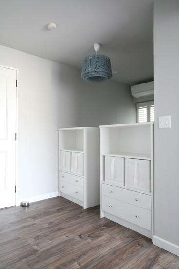 子供部屋事例:お揃いのオリジナル収納家具(K邸)