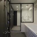 モルタル階段の家の写真 バスルーム