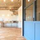 開放的で心地よい空間の写真 キッチン