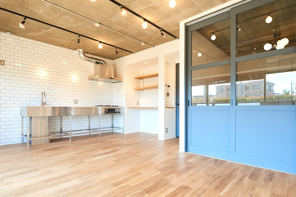 キッチン事例:ダイニングキッチン(開放的で心地よい空間)