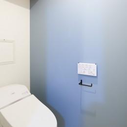 開放的で心地よい空間 (トイレ)