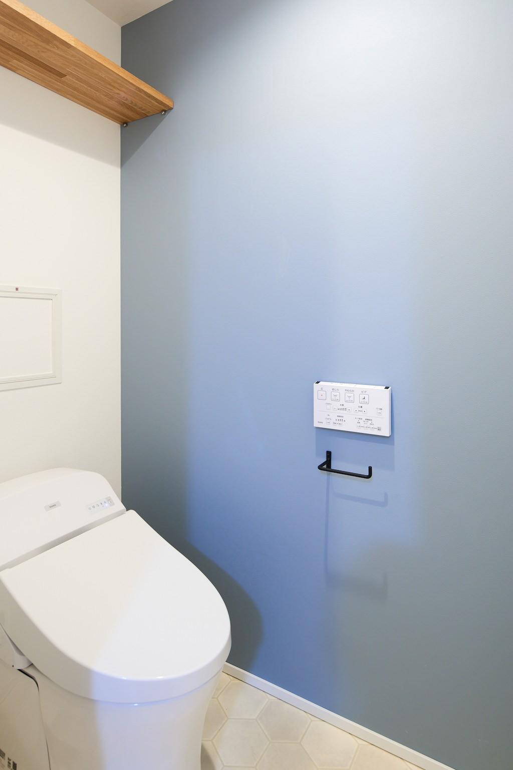 バス/トイレ事例:トイレ(開放的で心地よい空間)