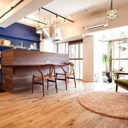 素材を活かす贅沢な空間