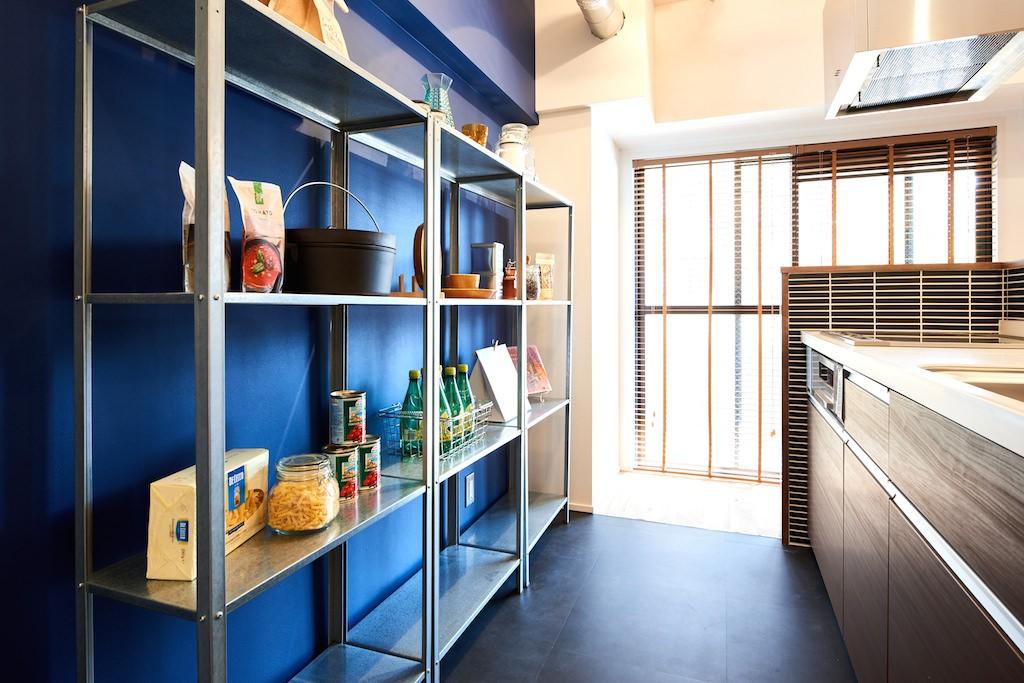 キッチン事例:キッチン(素材を活かす贅沢な空間)