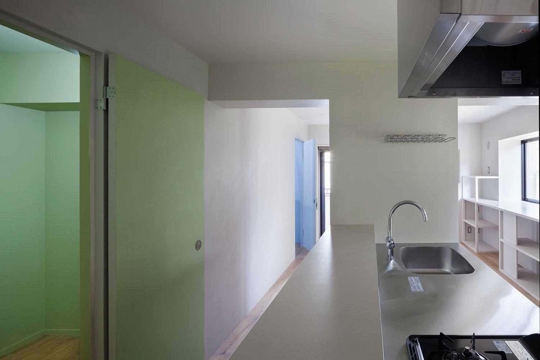 キッチン事例:キッチン(105号室)