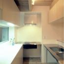 製作物ステンレスL型キッチン