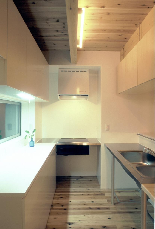 東松山のL型ボックス/Moさんの家の写真 製作物ステンレスL型キッチン