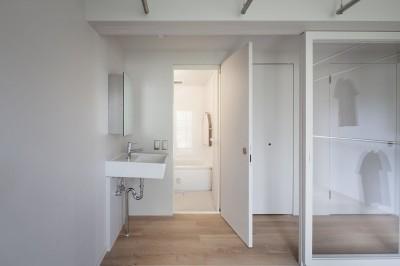 洗面・浴室 (105号室)
