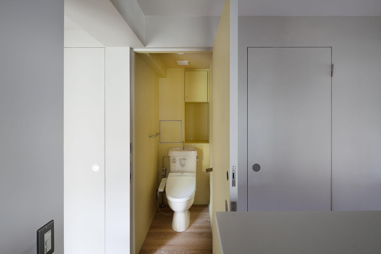 バス/トイレ事例:トイレ(105号室)