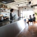 こだわり溢れるインダストリアルな空間の写真 キッチン