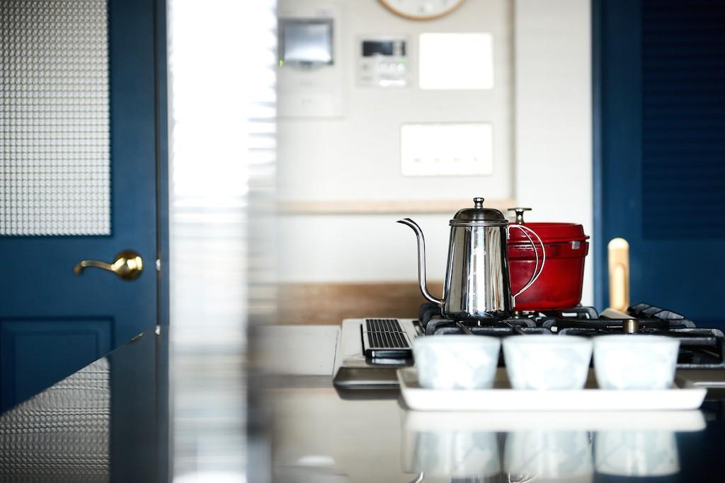 キッチン事例:キッチン(インダストリアル素材に囲まれ暮らす)