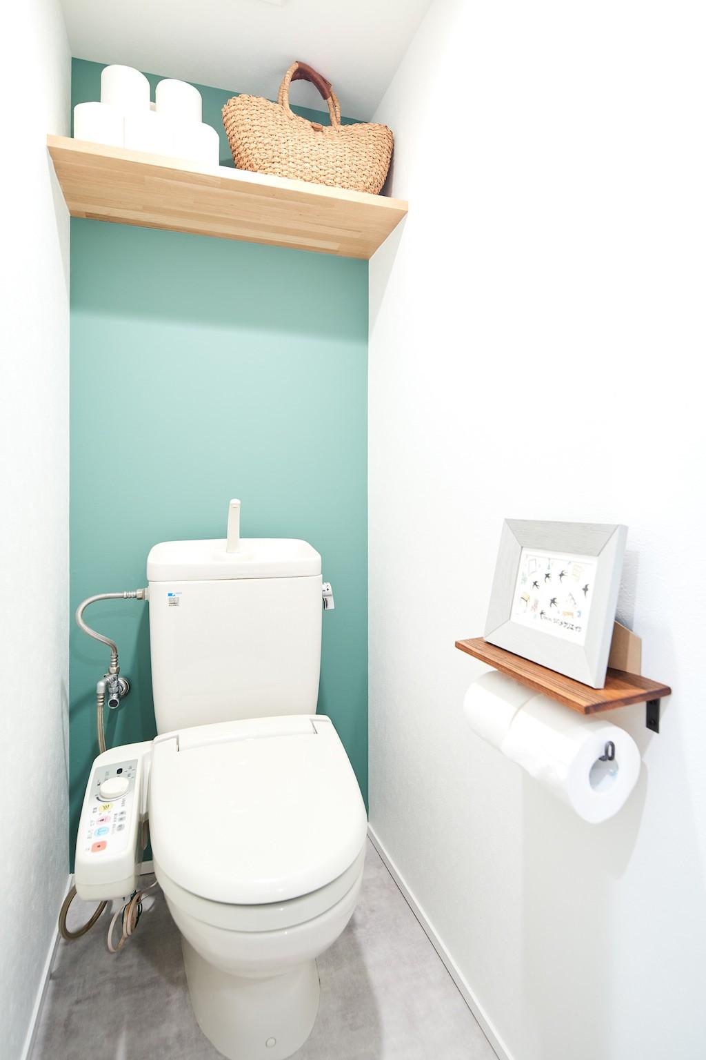 バス/トイレ事例:トイレ(シンプルに上質なお家)