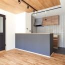 爽やかで落ち着いた空間の写真 ダイニングキッチン