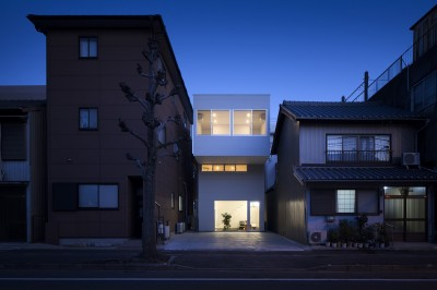 徳島の住宅 (東側外観)