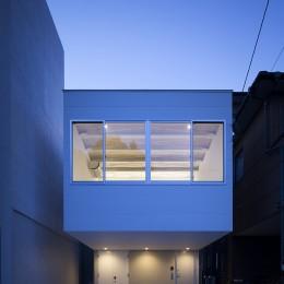 徳島の住宅 (西側外観)
