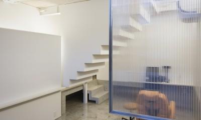 徳島の住宅 (1階ラウンジ)
