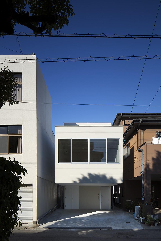 外観事例:西側外観(徳島の住宅)