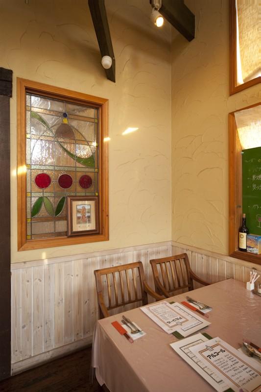 レストラン  ダ・フィオーレ (店舗内部)