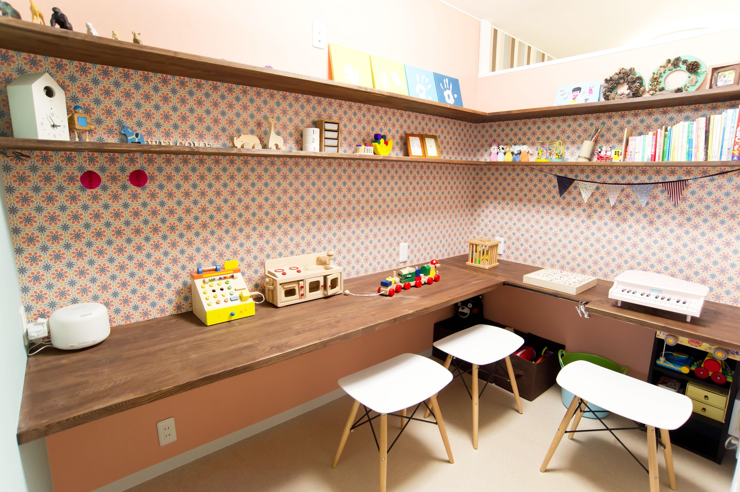 子供部屋事例:子ども部屋(自分たちらしい住まいを求め、少しずつの変化を楽しむ住まい)