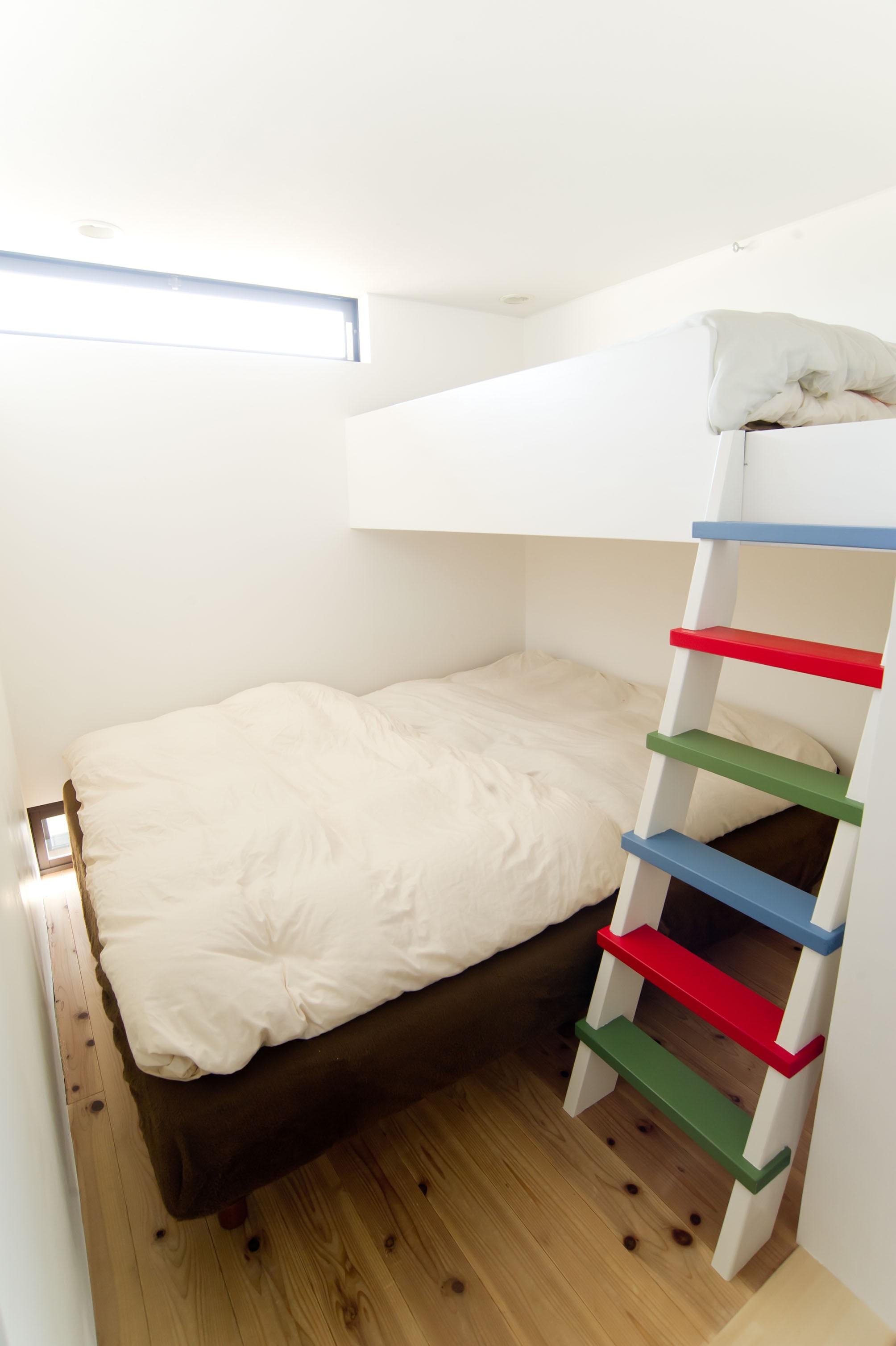 ベッドルーム事例:Family Bedroom(自分たちらしい住まいを求め、少しずつの変化を楽しむ住まい)
