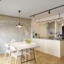 K邸-組み合わせを楽しむ。間取りの知恵と暮らしの工夫の写真 ダイニングキッチン