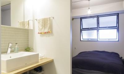 K邸-組み合わせを楽しむ。間取りの知恵と暮らしの工夫 (ベッドルーム)