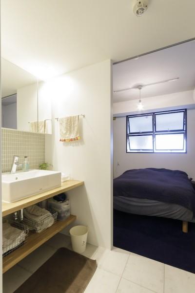 ベッドルーム (K邸-組み合わせを楽しむ。間取りの知恵と暮らしの工夫)