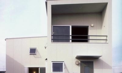 東松山のL型ボックス/Moさんの家