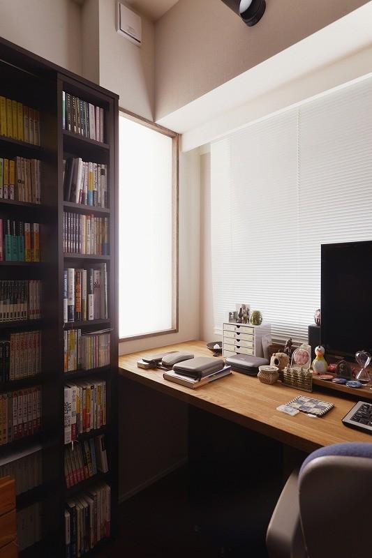 書斎事例:書斎(時の流れを感じ、これからを楽しむ)