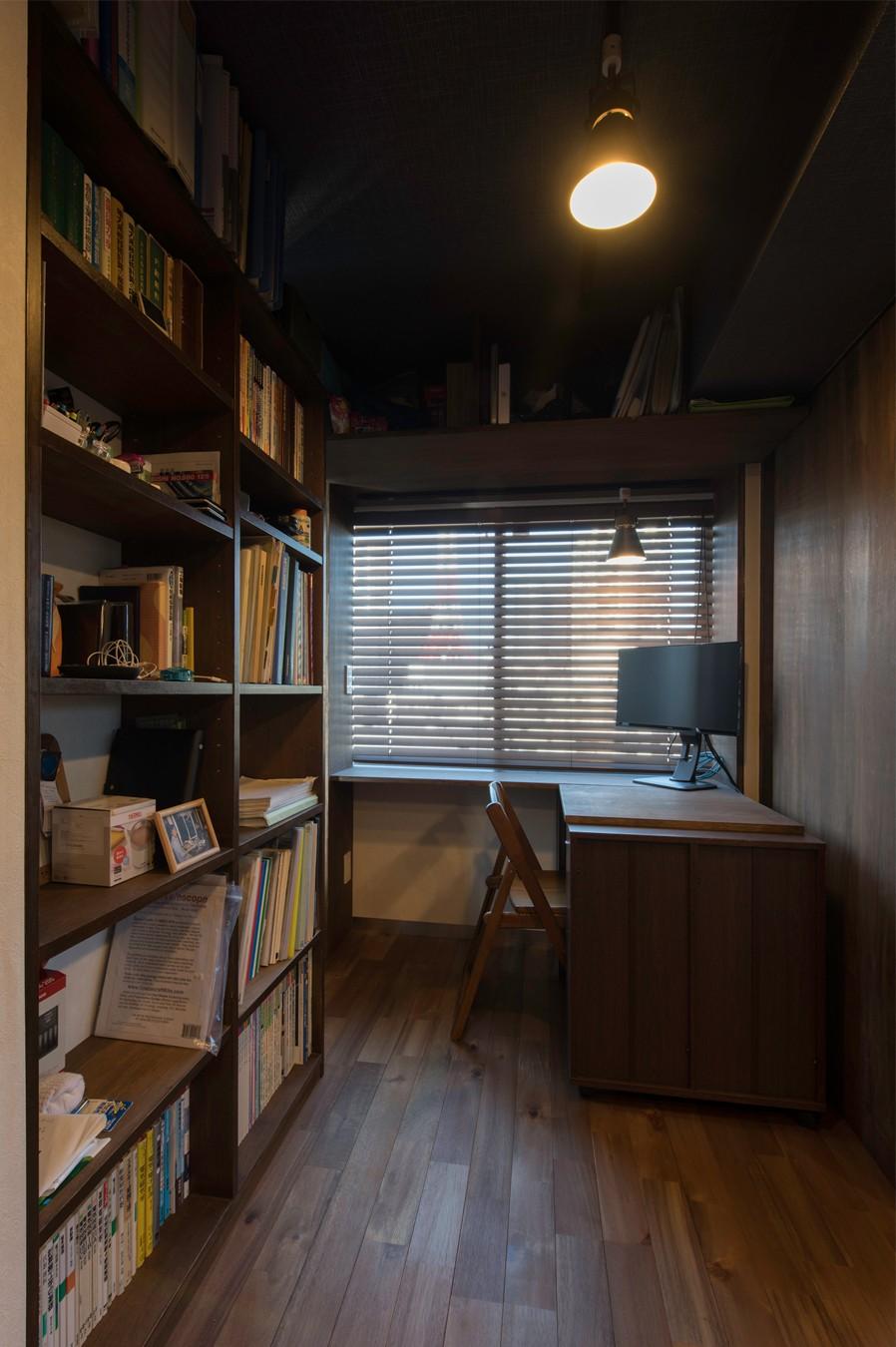 久保和樹「カグ ノ モリ - 壁面全面造作家具のリノベーション -」