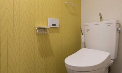 カグ ノ モリ - 壁面全面造作家具のリノベーション - (5階トイレ)