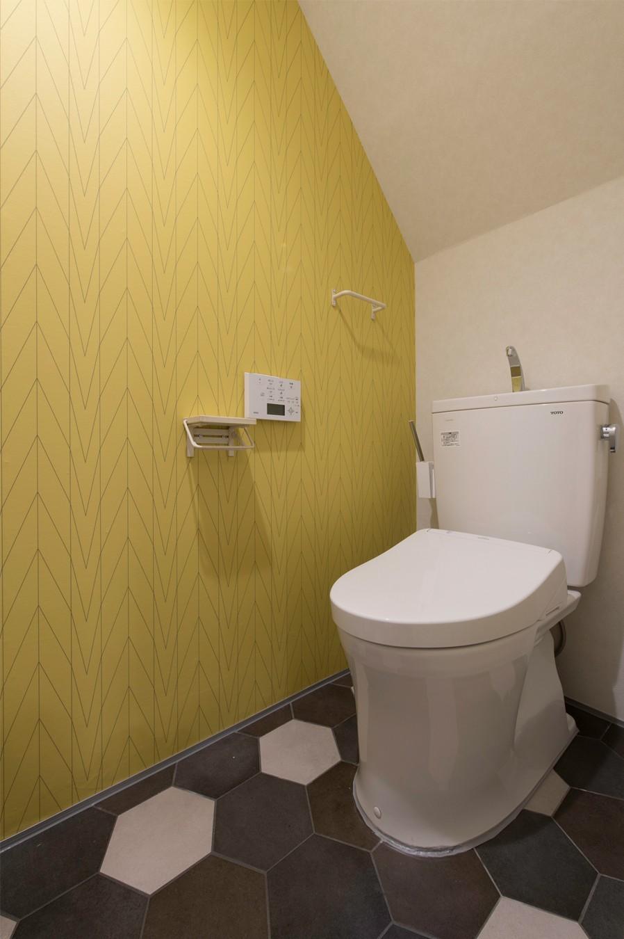 バス/トイレ事例:5階トイレ(カグ ノ モリ)