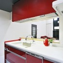 明るく風が通るリビング 長居したくなる空間への写真 生まれ変わったキッチンです。