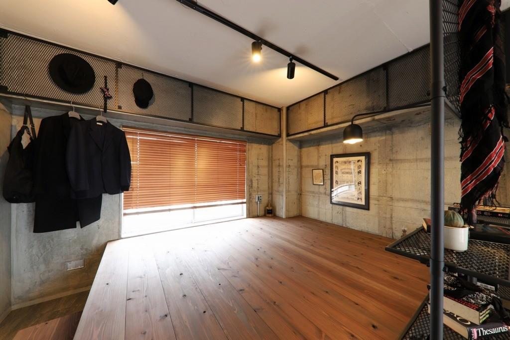 ベッドルーム事例:BED ROOM(池下 minimum Secret base)