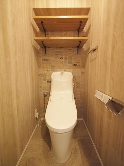 トイレ (インダストリアルの風合い)