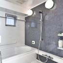 センターキッチンの住まいの写真 浴室