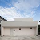 桜の住宅の写真 外観(道路側)