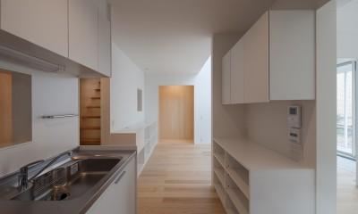 桜の住宅 (キッチン)