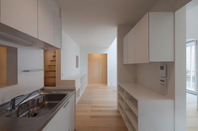 キッチン (桜の住宅)